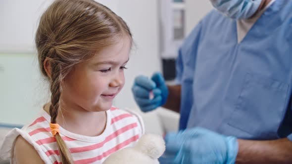 Thumbnail for Little Girl Getting Vaccine