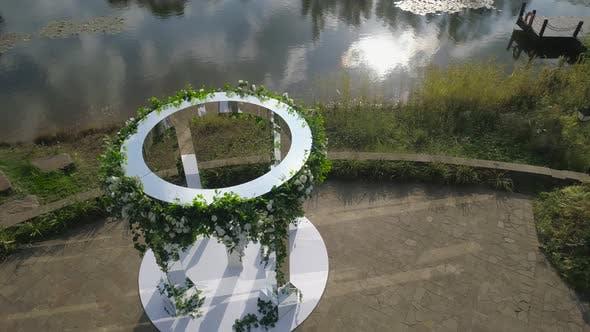Hochzeit im Freien Zeremonie