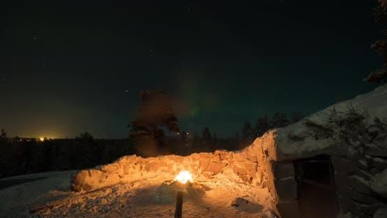 Thumbnail for Timelapse of Polar Lights in Finland