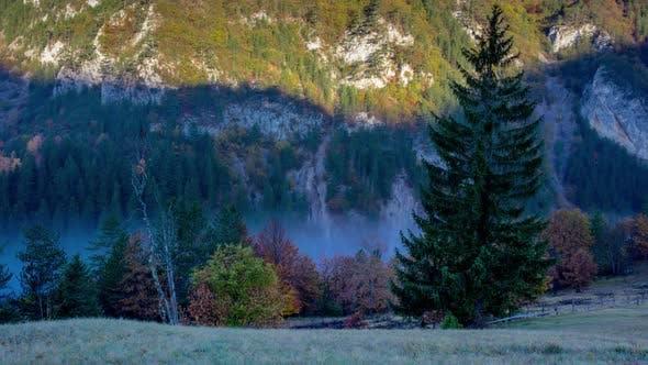 Thumbnail for Morning Lake Fog Timelapse