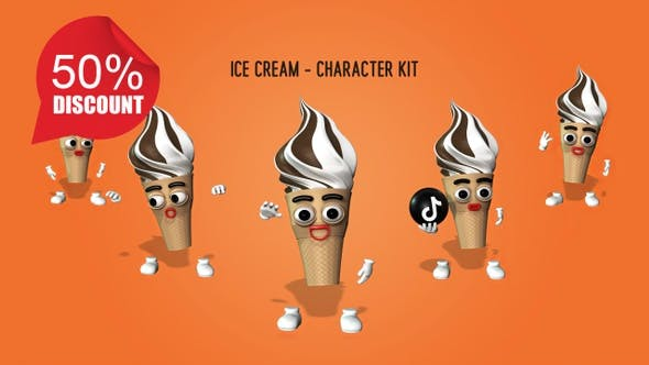 Thumbnail for Ice Cream - Character Kit