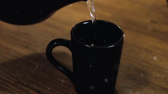 Thumbnail for Pouring a Cup of Coffee.