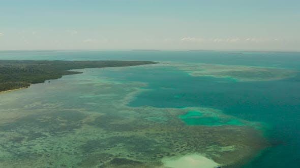 Thumbnail for Seascape with Island and and Tropical Lagoons. Balabac, Palawan, Philippines