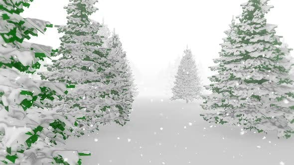 Thumbnail for Christmas Tree with Snow