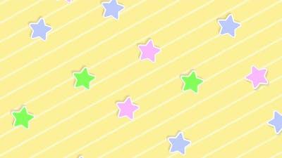 Abstract Kawaii Star