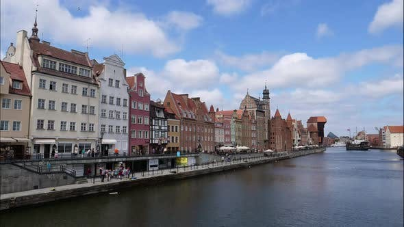 Thumbnail for Time lapse from the waterfront of Gdansk