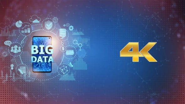 Thumbnail for Big Data on Mobile Phone - Left Side (4K)