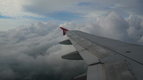 Thumbnail for View From Window Plane Wing
