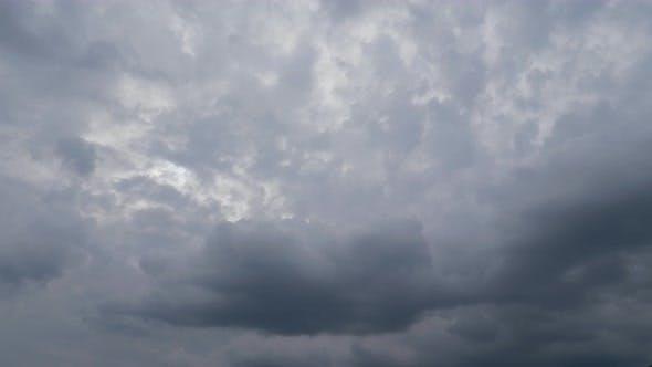 6K Cloud Stormy Timelapse