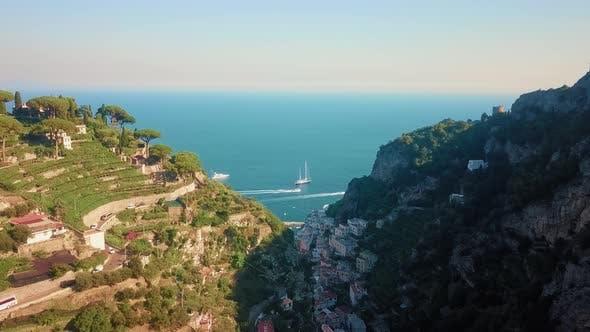 Thumbnail for Scala, Amalfi Coast Aerial