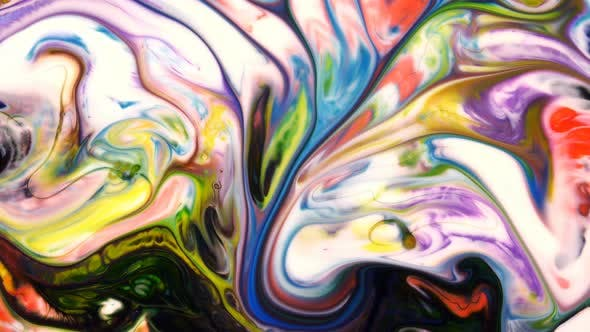 Cover Image for Abstract Colorful Paint Liquid Artistic Movement 44