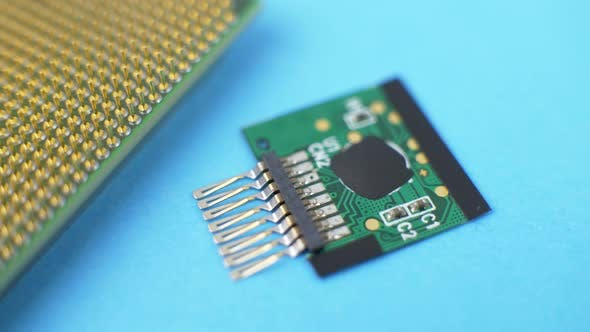 Thumbnail for Electronic Green Circuit Board