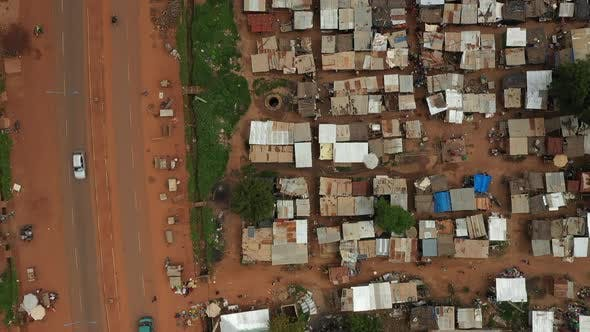 Thumbnail for Africa Mali Village Aerial View 29