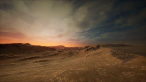 Thumbnail for Desert Storm in Sand Desert
