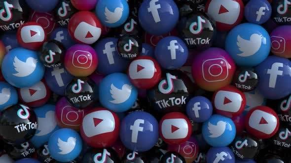 Transition du Logo des médias sociaux 2