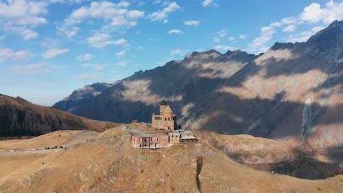 Monastery Blue Sky