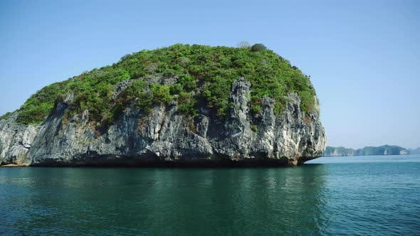Thumbnail for Beautiful View Of Rock Island In Halong Bay, Vietnam.
