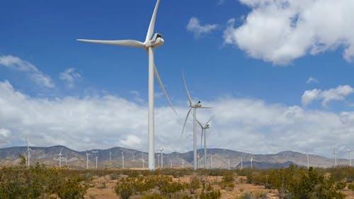 Driving Past A Wind Farm