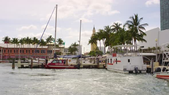 Ambulance boats in Miami