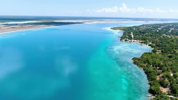 Thumbnail for Lake Bacalar Tropical Destination Aerial