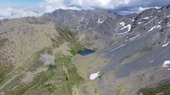 Thumbnail for Aerial High Altitude Glacier Lake