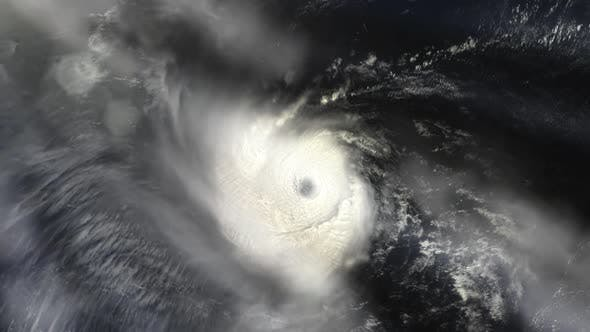 Thumbnail for Hurricane Ike Seen from Space.