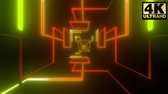 Thumbnail for Stroke Shapes Vj Tunnel