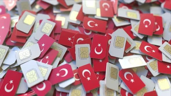 Thumbnail for SIM-Karten mit Flagge der Türkei
