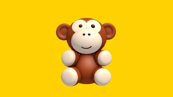 Monkey 3D Swinging – Looped