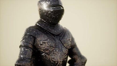 Доспехи средневекового рыцаря