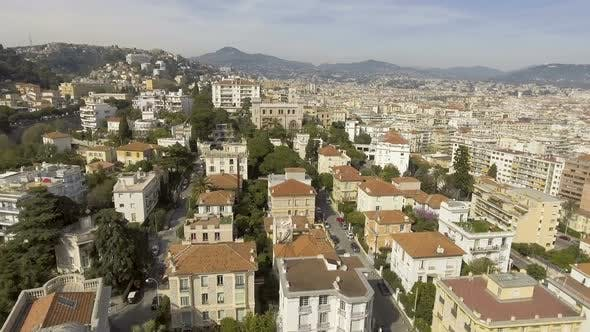 Thumbnail for Rooftop of Buildings in Nice, Cityscape with Beautiful Architecture, Aerial View