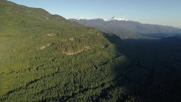 Thumbnail for Scenic Summer Aerial View For Outdoor Adventures Near Whistler Canada
