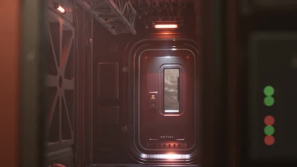 Thumbnail for Sci-fi Tunnel or Spaceship Corridor