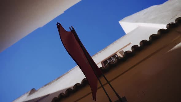 Thumbnail for Moroccan Red Flag With Star Emblem