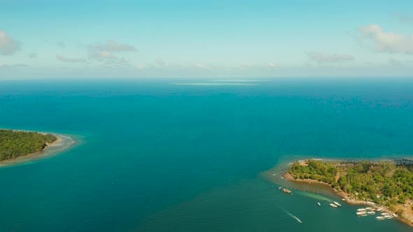 Thumbnail for Coastline on the Tropical Island. Balabac Island, Palawan