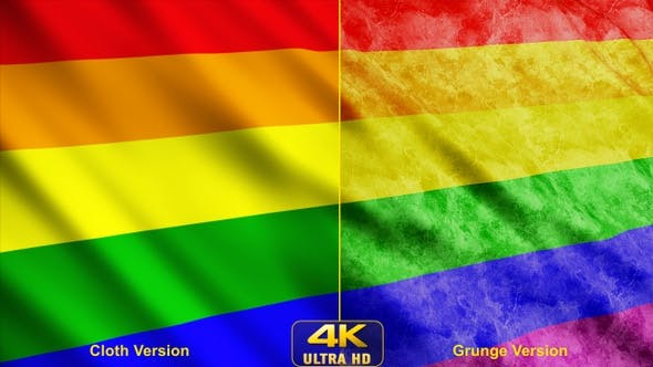 Thumbnail for Gay Pride Rainbow Flags