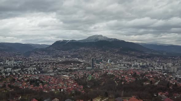 Thumbnail for Aerial View Of Sarajevo City