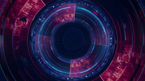 Digital Sci Fi Background V4