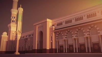 Al Masjid an Nabawi 3d mosque FHD Camera 05