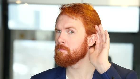 Thumbnail for Listening Secret, Careful Businessman