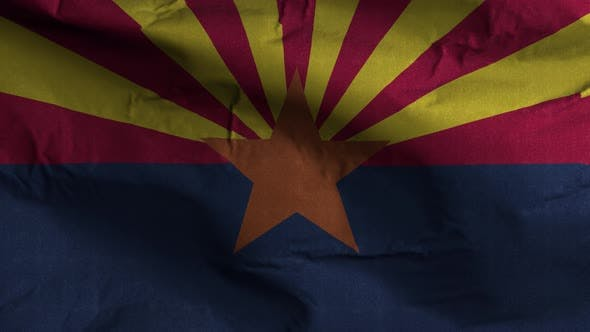 Arizona State Flag 4K