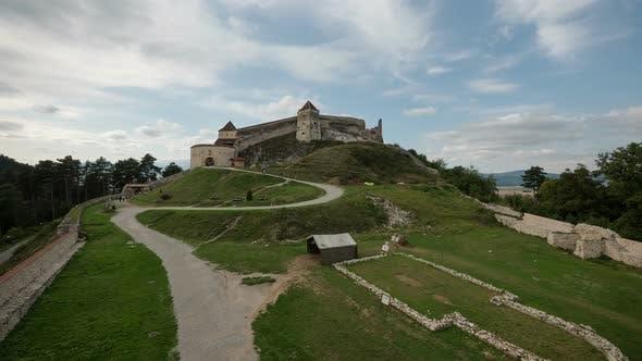 Timelapse of Rasnov Citadel