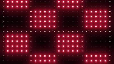 4k Red Led Lights Loops