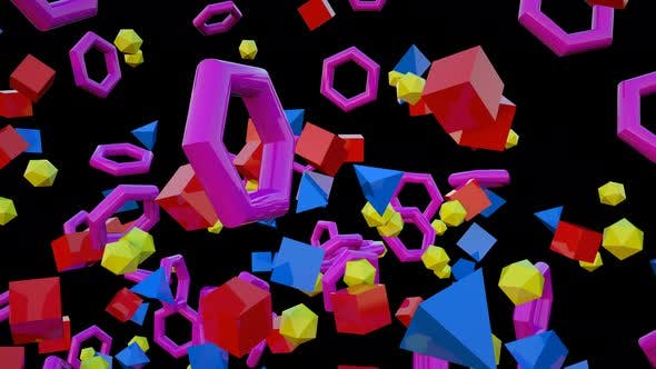 Cover Image for Colorful Geometric 02 4k