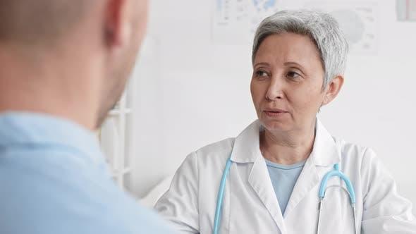 Neurologist Testing Patient