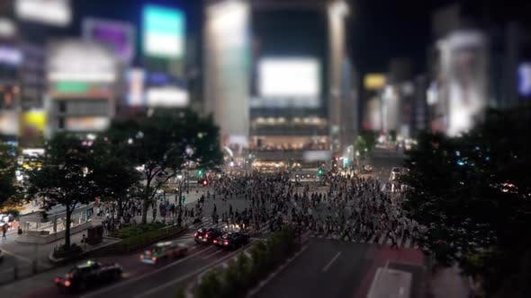 Thumbnail for Shibuya Crossing Timelapse