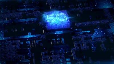5G Сhip Background
