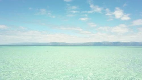 Drone Point of View of Stunning Seascape in Summer Season in Phililippines.