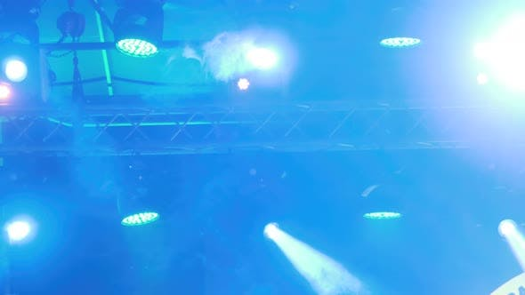 Thumbnail for Stage Multi-colored Lighting. Concert Lights. Lighting Effects on Concert Stage