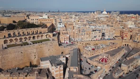Thumbnail for Aerial View of Valletta Old Town, Malta